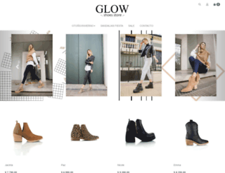 glowshoes.com.ar screenshot
