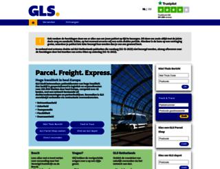 gls-info.nl screenshot