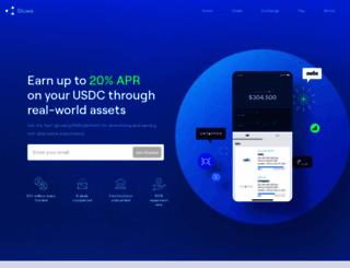 gluwa.com screenshot