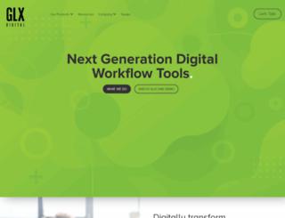 glxmarketing.com screenshot