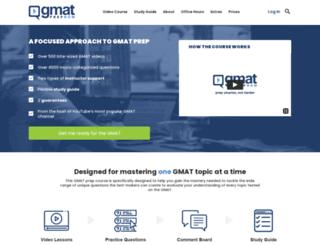 gmatprepnow.com screenshot