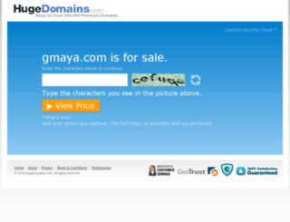 gmaya.com screenshot