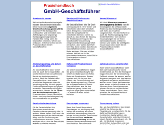 gmbh-geschaeftsfuehrer.com screenshot