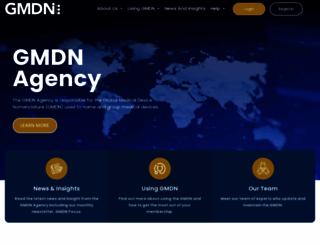 gmdnagency.org screenshot