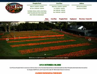 gmfarms.com screenshot