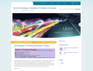 gmstechnologyindia.blogspot.in screenshot
