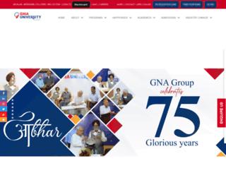 gna.university screenshot