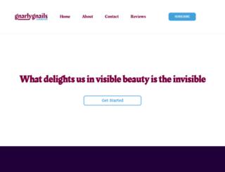 gnarlygnails.com screenshot