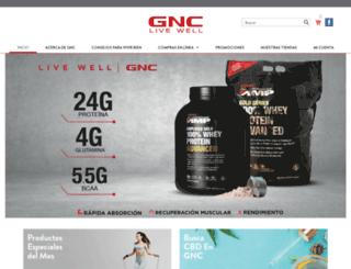 gnc.cr screenshot