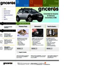 gnceros.com.ar screenshot