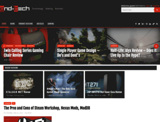 gnd-tech.com screenshot