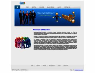 gnhsolutions.com screenshot