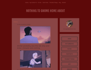gnomingabout.tumblr.com screenshot