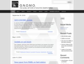 gnomo.ucnrs.org screenshot