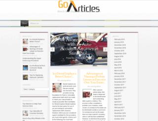 go-articles.com screenshot