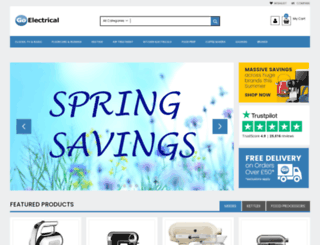 go-electrical.co.uk screenshot