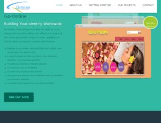 go-online.website screenshot
