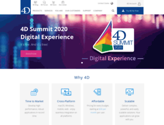 go.4d.com screenshot