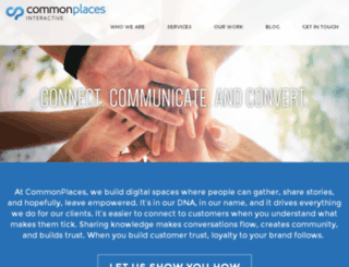 go.commonplaces.com screenshot