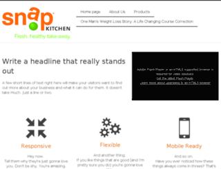 go.snapkitchen.com screenshot
