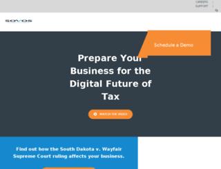 go.taxware.com screenshot