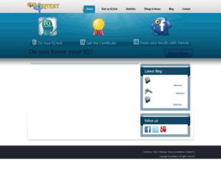 go4iqtest.com screenshot