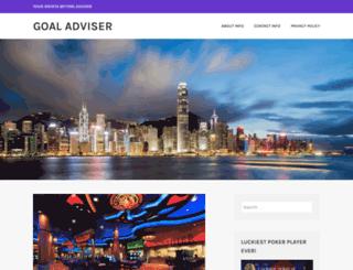 goaladviser.net screenshot