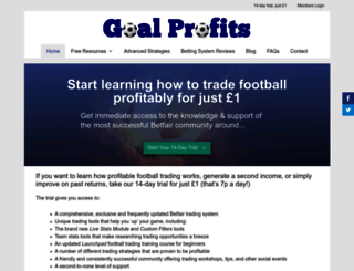 goalprofits.com screenshot