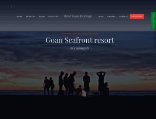 goanheritage.com screenshot