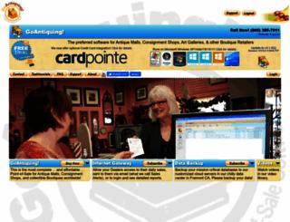 goantiquing.net screenshot
