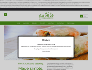 gobble.co.nz screenshot