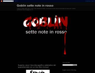goblinsettenoteinrosso.blogspot.com screenshot