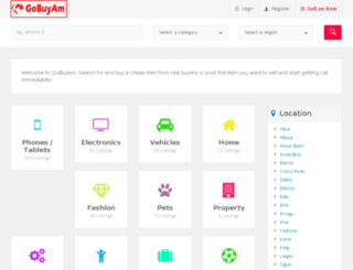 gobuyam.com screenshot