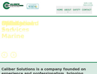 gocalibersolutions.com screenshot