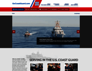 gocoastguard.com screenshot