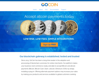 gocoin.com screenshot