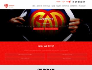 godbrand.com screenshot