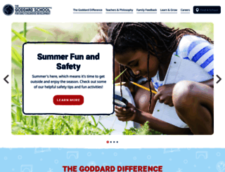 goddardschool.com screenshot