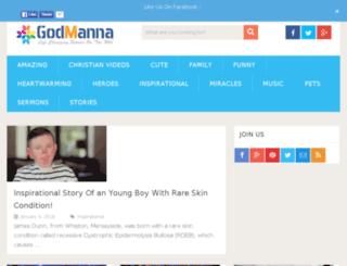 godmanna.com screenshot