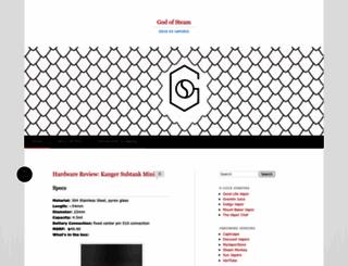 godofsteam.wordpress.com screenshot