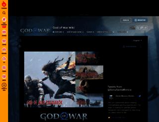godofwar.wikia.com screenshot