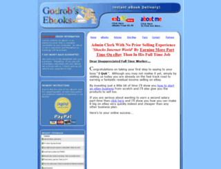 godrobs-ebooks.co.uk screenshot