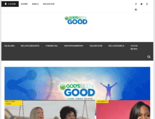 godsbeengood.com screenshot