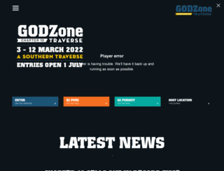 godzoneadventure.com screenshot