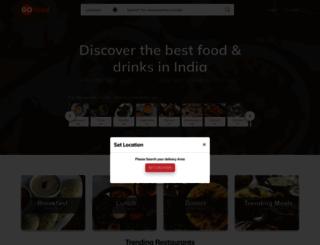 gofood.in screenshot