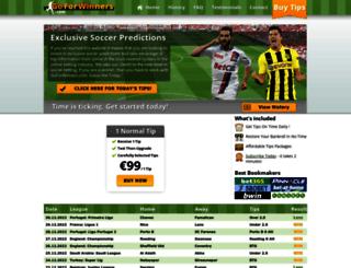 goforwinners.com screenshot