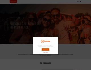 gofundraise.com.au screenshot