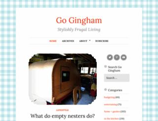 gogingham.com screenshot
