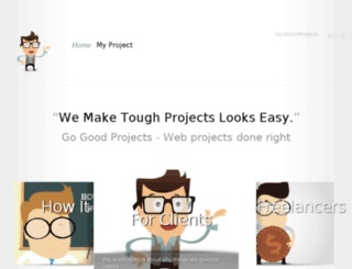 gogoodprojects.com screenshot