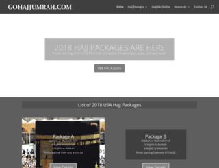 gohajjumrah.com screenshot